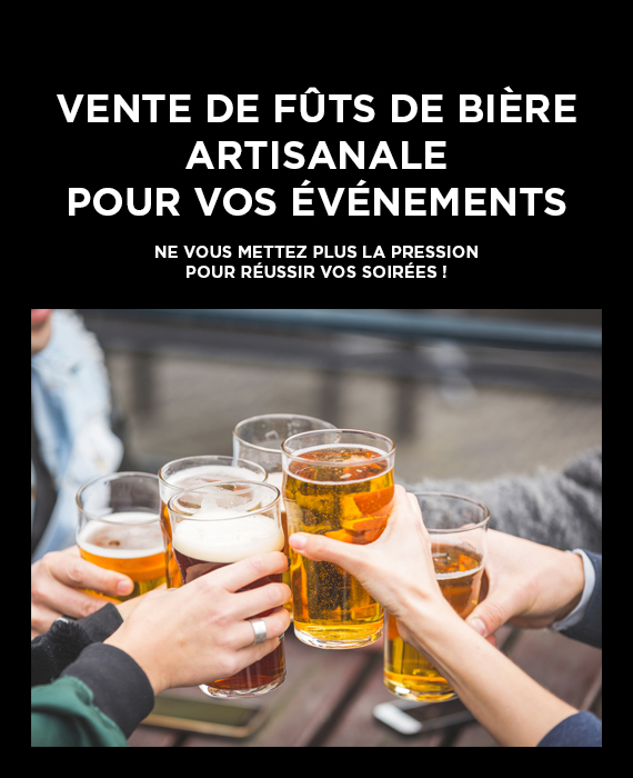 Vente fût bières achat évènements fête