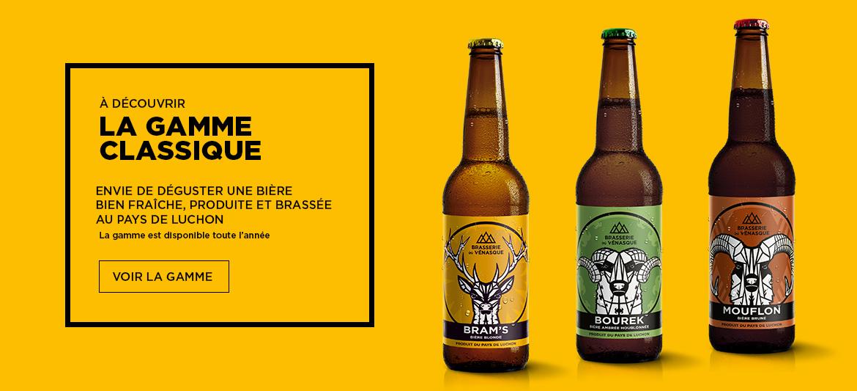 Découvrez une gamme de bière artisanale du Pays de Luchon - BRASSERIE DU VENASQUE