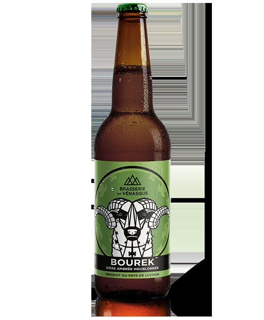 La bourek est une bière artisanale ambrée houblonnée -BRASSERIE DU VENASQUE