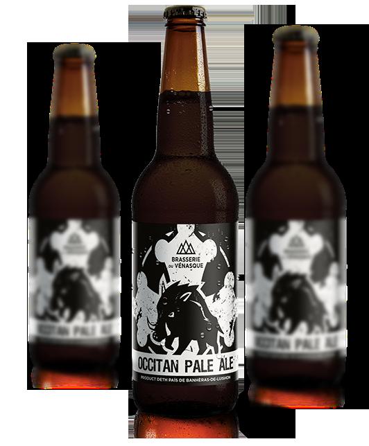 L'OCCITAN est une bière artisanale de la BRASSERIE DU VENASQUE