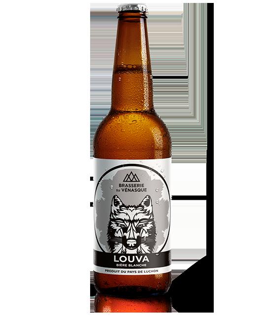 Bière blanche LOUVA