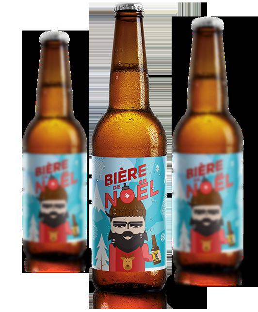 La bière de Noël - le cadeau idéal - BRASSERIE DU VENASQUE - MONTAUBAN DE LUCHON