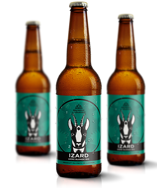 IZARD bière blonde bio de la Brasserie du Vénasque
